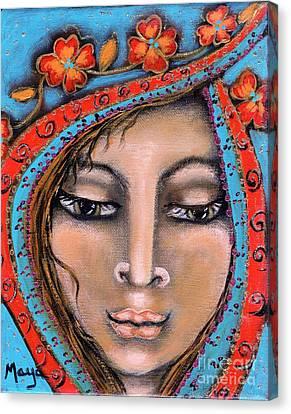 Morganna Canvas Print by Maya Telford