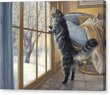Morning After Canvas Print by Lucie Bilodeau