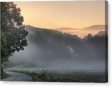 Morning Has Broken - Landscapes Canvas Print by Shara Lee