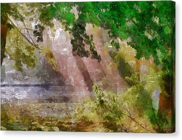 Morning In The Park Canvas Print by Georgi Dimitrov