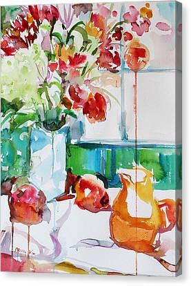 Morning Light Canvas Print by Becky Kim