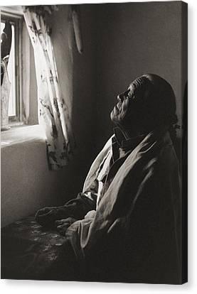 Teresino Jiron - Taos Canvas Print by Gary Auerbach