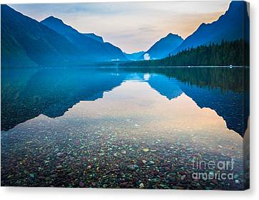 Morning Magic Canvas Print by Inge Johnsson