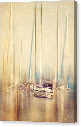 Morning Sail Canvas Print by Amy Weiss