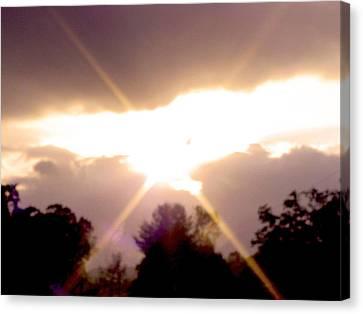 Morning Sky Canvas Print by Robert J Andler