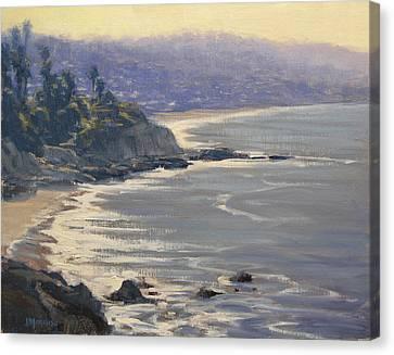 Morning View Heisler Park Canvas Print by Joe Mancuso