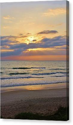 Mornings Early Light Canvas Print by Bruce Bley