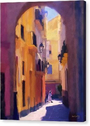 Moroccan Light Canvas Print by Bob Galka