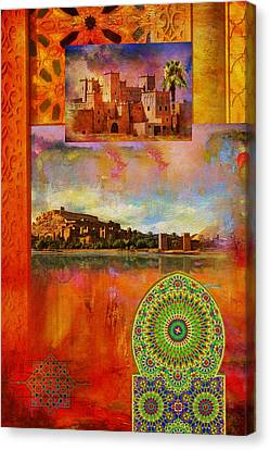 Morocco Heritage Poster Canvas Print by Catf