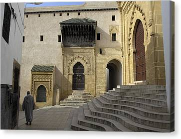 Morocco. Sal�. Great Mosque Canvas Print by Everett