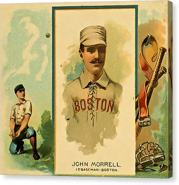 Morrell Baseball Canvas Print by David Letts