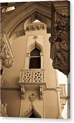 Morrocan Window And Archway Canvas Print by Douglas Barnett