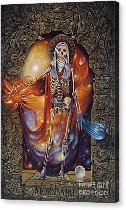 Mors Santi Canvas Print by Ricardo Chavez-Mendez