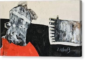Mortalis No 19 Canvas Print by Mark M  Mellon