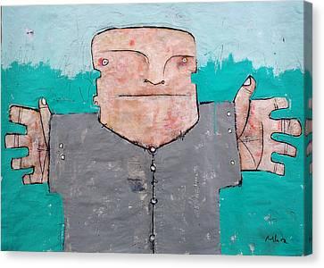 Mortalis_2 Canvas Print by Mark M  Mellon