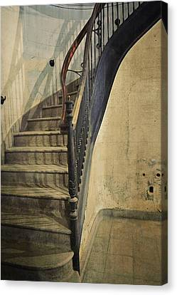 Morton Hotel Stairway Canvas Print by Michelle Calkins