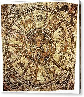 Mosaic, 6th Century Canvas Print by Granger