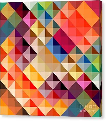 Mosaic Canvas Print by Donika Nikova