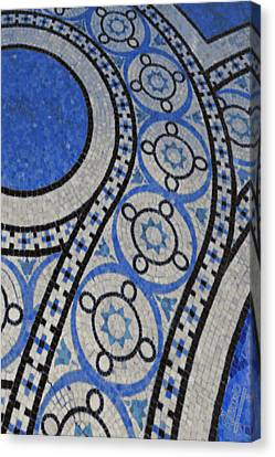 Mosaic Perspective 2 Canvas Print by Tony Rubino