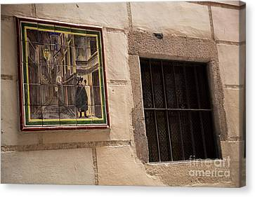 Mosaic Window Canvas Print by Rene Triay Photography