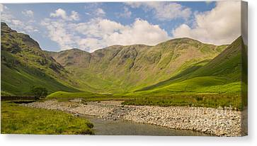 Mosedale Horseshoe Canvas Print by John Collier