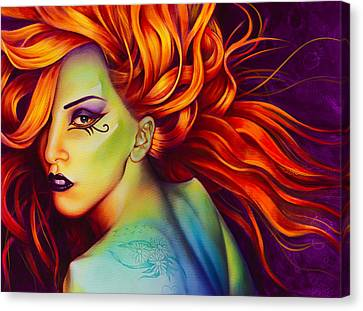 Mother Monster Canvas Print by Scott Spillman