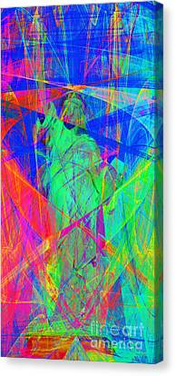 Mother Of Exiles 20130618 Long Canvas Print by Wingsdomain Art and Photography