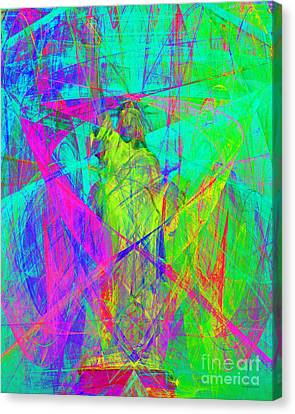 Mother Of Exiles 20130618m60 Canvas Print by Wingsdomain Art and Photography