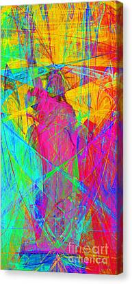 Mother Of Exiles 20130618p180 Long Canvas Print by Wingsdomain Art and Photography