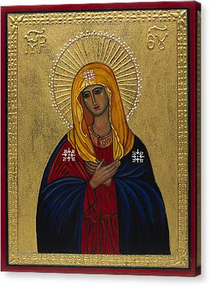 Mother Of Mercy I Canvas Print by Ilse Wefers