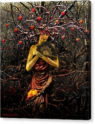 Mothernature Canvas Print by Larry Butterworth
