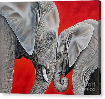 Mothers Love Canvas Print by Ilse Kleyn