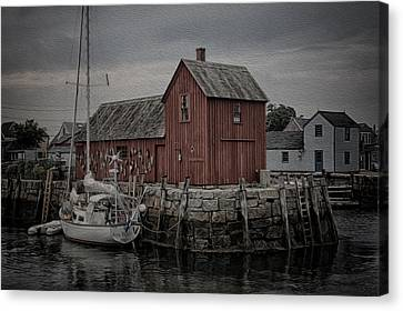 Motif 1 - Painterly Canvas Print by Stephen Stookey