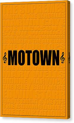 Motown Canvas Print by Andrew Fare