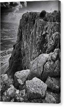 Mount Arbel Canvas Print by Stephen Stookey