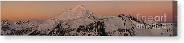 Mount Baker Majestic Canvas Print by Mike Reid