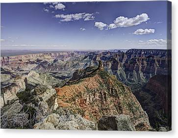 Mount Hayden Canvas Print by Mike Herdering