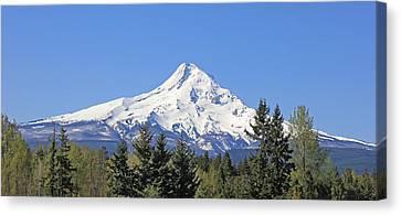 Mount Hood Mountain Oregon Canvas Print by Jennie Marie Schell