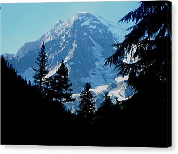 Mount Rainier 14 Canvas Print by Kathy Long
