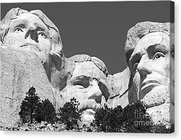 Mount Rushmore Canvas Print by Alex Cassels