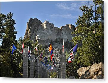 Mount Rushmore Canvas Print by Nava Thompson