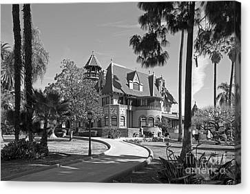 Mount St. Mary's University Doheny Mansion Canvas Print by University Icons