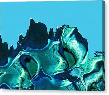 Mount Strength-night Canvas Print by David Winson