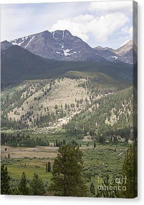 Mount Ypsilon Canvas Print by Kay Pickens