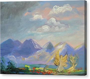 Mountain Dream Canvas Print by Patricia Kimsey Bollinger