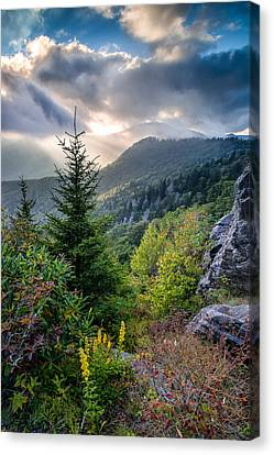 Mountain Interlude Canvas Print by Rob Travis