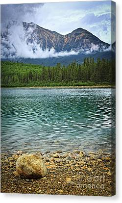 Mountain Lake Canvas Print by Elena Elisseeva