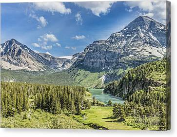 Mountain Majesty Canvas Print by Jim Kuchler