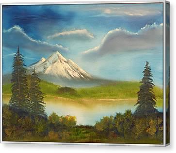 Mountain Overlook Canvas Print by Joyce Krenson