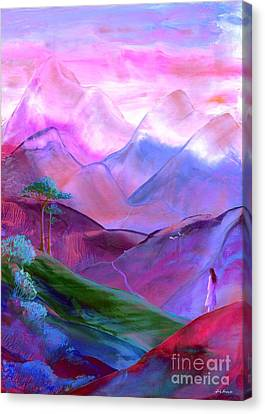 Mountain Reverence Canvas Print by Jane Small